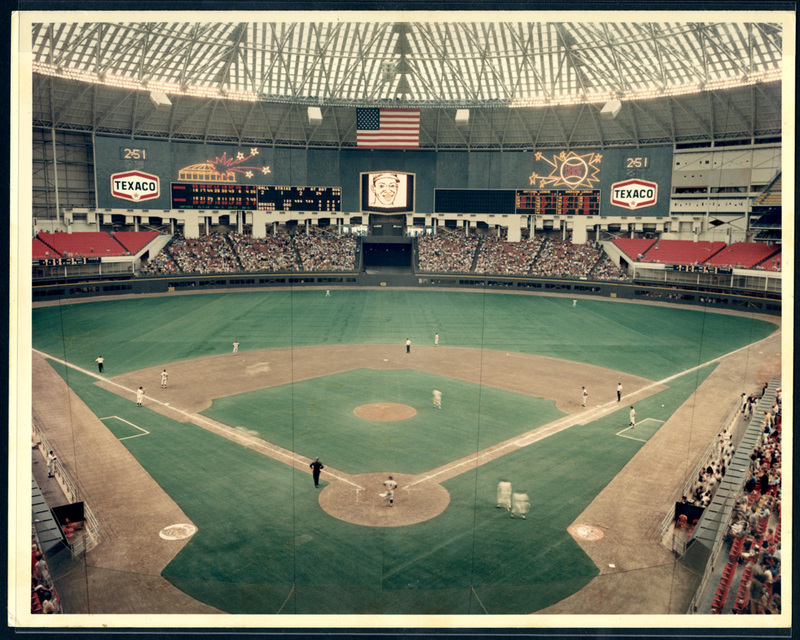 Photograph, Astrodome Interior View During Baseball Game