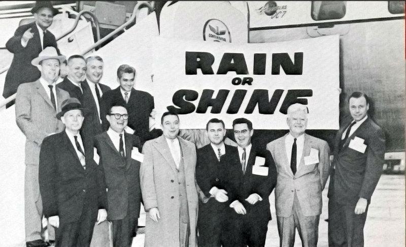 "Souvenir Program for the ""Rain or Shine"" Tour"
