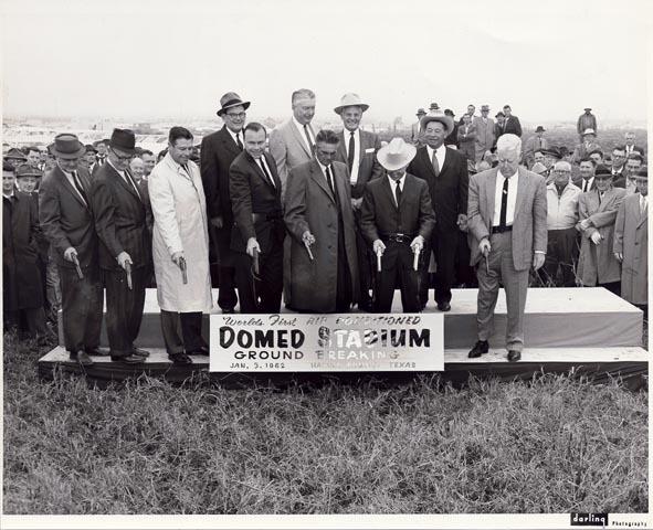 Photograph, Astrodome Groundbreaking