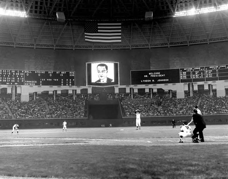 Photograph, Houston Astrodome Interior