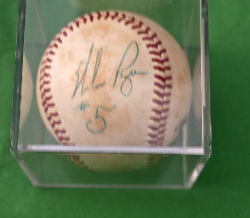 Baseball with Nolan Ryan's Signature