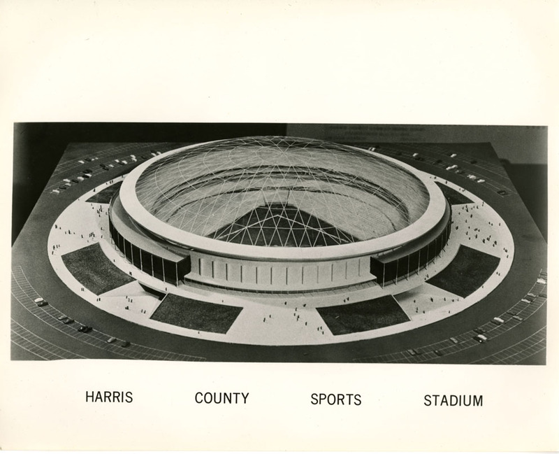 Photograph, Harris County Sports Stadium