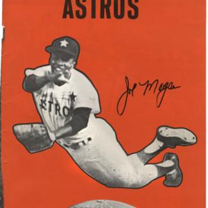 Astros Souvenir program<br /><br />
