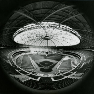 Photograph, Astrodome Interior, Fish-Eye View