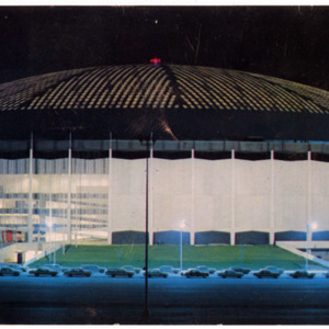 Postcard, Astrodome at Night