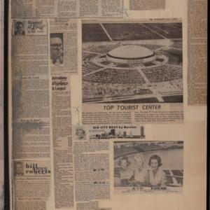 Scrapbook Belonging to Judge Roy M. Hofheinz, re: Domed Stadium, 1965-1967