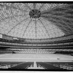 Photograph, Astrosome, View South Toward Moveable Field Level Seats