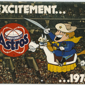 Astros Photograph Booklet