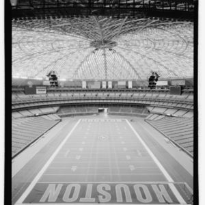 Photograph, Astrodome, Interior, Looking East From Level 9 Sky Boxes