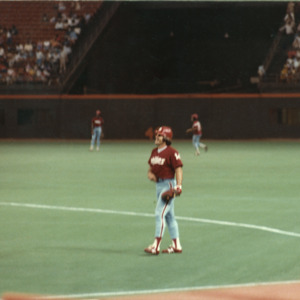 Photograph, Philadelphia Phillies Players at the Astrodome