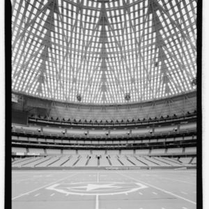 Photograph, Astrodome, Interior View South Toward Moveable Field Level Seats