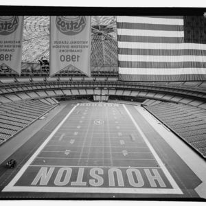 Photograph, Astrodome, Interior View, Looking West