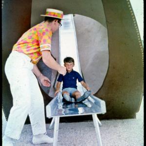 Photograph, Giant Cowboy Boot Slide