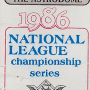 Ticket, National League Championship Series