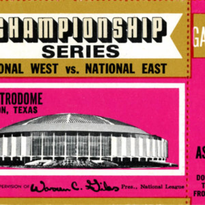 Ticket, National League Championship Game 2