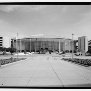 Photograph, Astrodome, North Elevation, Looking South