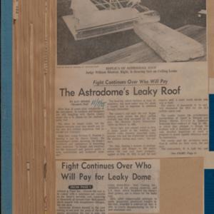 "Scrapbook Belonging to E. A. ""Squatty"" Lyons, Volume 13, January 1975 to May 1976"