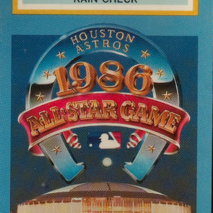Ticket, All-Star Game