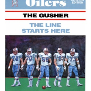 """""""The Gusher: The Line Starts Here"""""""