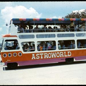 Photograph, Astroworld Double-decker Bus