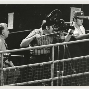 Photograph, Filming from Dugout