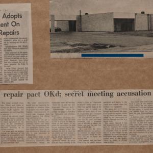 "Scrapbook Belonging to E. A. ""Squatty"" Lyons, Volume 10, June 1970 to February 1972"