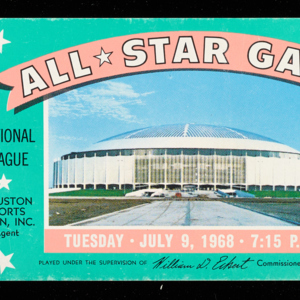 <span>Ticket, All-Star Game</span>
