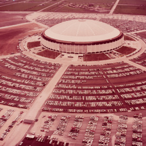 Photograph, Aerial Photograph of Astrodome Complex
