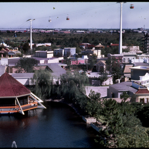 Photograph, Aerial Shot of Astroworld Americana Square