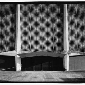 Photograph, Astrodome, Entrance Detail, North Facade