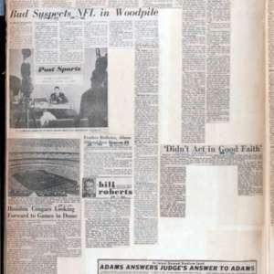 Scrapbook Belonging to Judge Roy M. Hofheinz, re: Harris County Domed Stadium, 1963-1965
