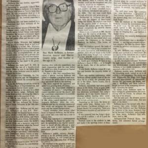 """Roy Hofheinz, Former Mayor, Dead at 70,"" Houston Chronicle"