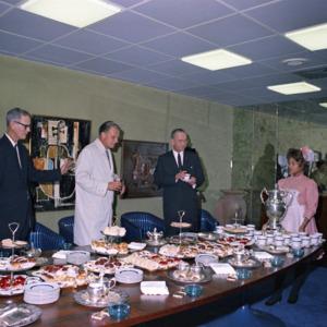 Photograph, Buffet Table