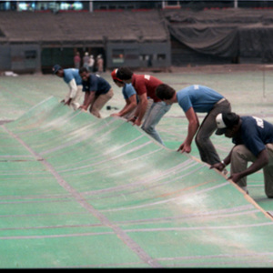 Contractors racing to get floor laid at Astrodome
