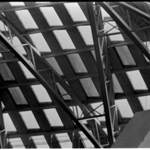 Close up of the Astrodome roof<br /><br />