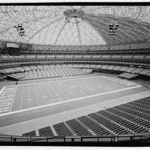 Photograph, Astrodome, Interior Set Up for Baseball