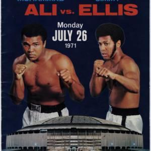 Program, Muhammad Ali vs. Jimmy Ellis