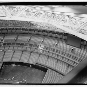 Photograph, Astrodome, Dome Roof Truss