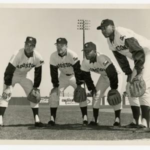Photograph, Houston Colt 45s Players