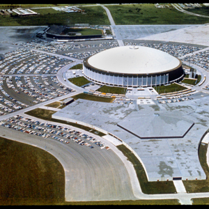 Photograph, Aerial Shot of Astroworld
