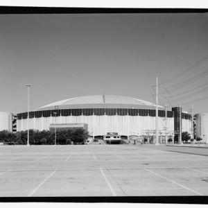 Photograph, Astrodome, East Elevation, Looking West