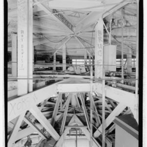 Photograph, Astrodome, Structural Detail At Crown Of Lamella Dome