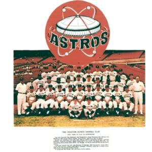 Photograph, 1965 Houston Astros Baseball Club