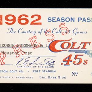Colt 45's Season Pass