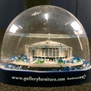 Astrodome in Snowglobe<br /><br />