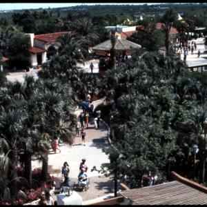 Photograph, Aerial Shot of Astroworld Oriental Village