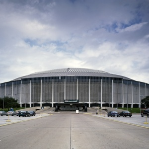 Photograph, The Astrodome, the World's First Domed Stadium, Houston, Texas