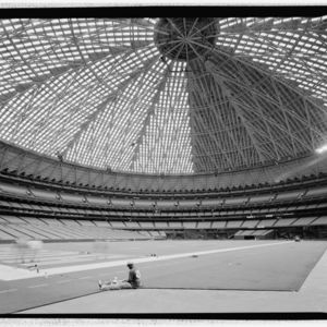 Photograph, Astrodome, Perspective Looking Southwest From Field Level