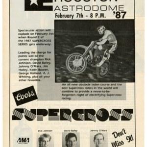 Advertisement, SUPERCROSS Series