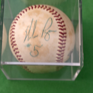 Baseball with Nolan Ryan's Signature